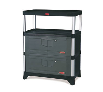 Rubbermaid FG9T4100 BLA Cabinet Kit - Black