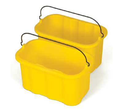 Rubbermaid FG9T8200 YEL 10-qt Sanitizing Caddy Replacement - Yellow