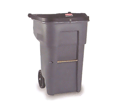Rubbermaid FG9W1188 GRAY 95-gal BRUTE Confidential Document Container - Gray