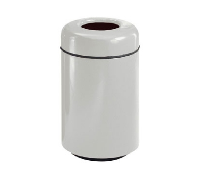 Rubbermaid FG1829TSAPLTN Waste Receptacle 15 Gal 29 in H Open Top Plastic Liner In/Outdoor Tan Restaurant Supply