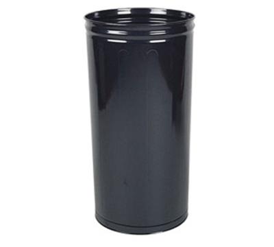 "Rubbermaid FGWB2029BK 16"" Steel Wastebasket - 80-qt Capacity, Black"