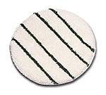 "Rubbermaid FGP26900WH00 19"" Bonnet with Scrub Strips - White/Green"