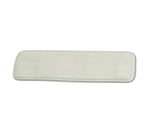 "Rubbermaid FGQ41200WH00 18"" Hygen Dry Room Pad - Microfiber, White"