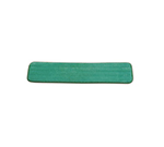 "Rubbermaid FGQ42400GR00 24"" Hygen Dry Hall Pad - Microfiber, Green"