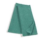 """Rubbermaid FGQ62000GR00 16"""" Square Hygen General Purpose Cloth - Microfiber, Green"""