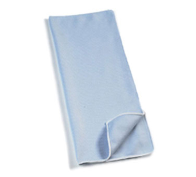 "Rubbermaid FGQ63000BL00 16"" Square Hygen Glass Cloth - Microfiber, Blue"