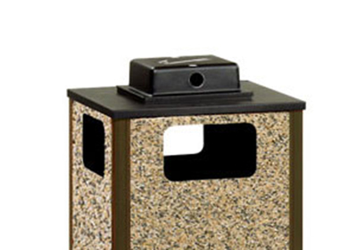 Rubbermaid FGWU3 Weather Urn Top - (R18SU) Waste Container