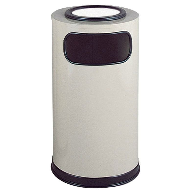 Rubbermaid FGSO16SUEGLAL Trash Can Top Cigarette Receptacle - Decorative Finish