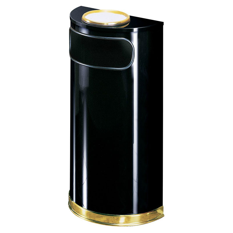 Rubbermaid FGSO8SU10PLBK Trash Can Top Cigarette Receptacle - Decorative Finish