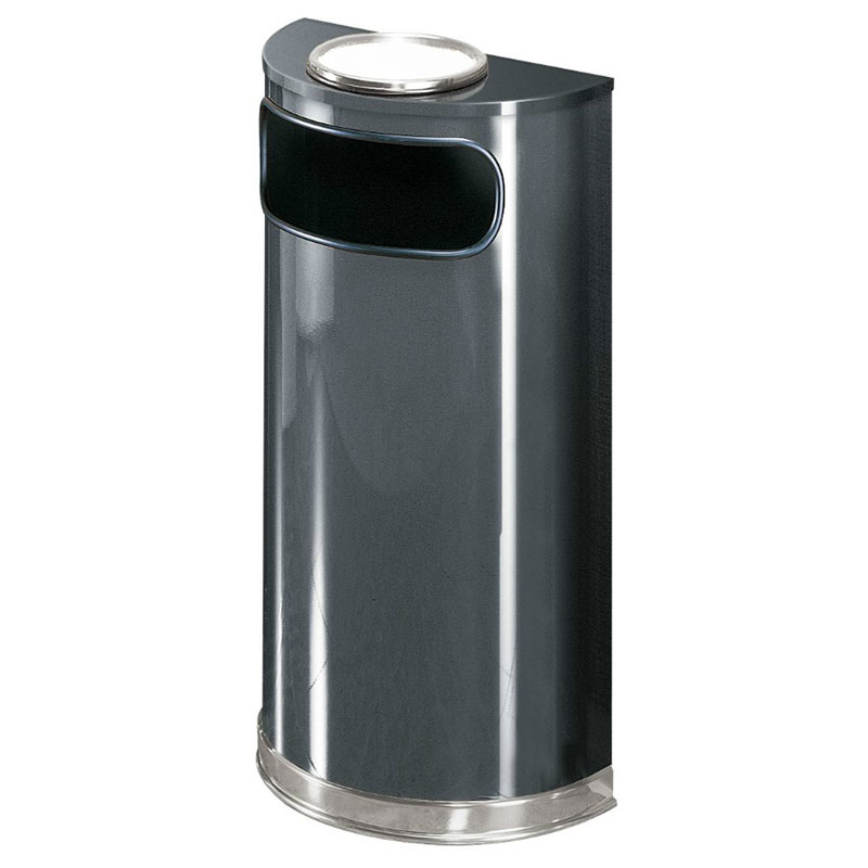 Rubbermaid FGSO8SU20PLANT Trash Can Top Cigarette Receptacle - Decorative Finish