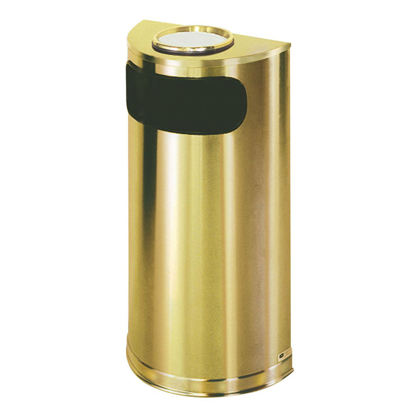Rubbermaid FGSO8SUSBSPL Trash Can Top Cigarette Receptacle - Decorative Finish