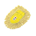 Rubbermaid FGU12000YL00 Trapper Wedge Dust Mop Head - Looped End, Yellow