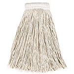 "Rubbermaid FGV15800WH00 Economy Mop Head - #24, 5"" Headband, Cotton Yarn, White"