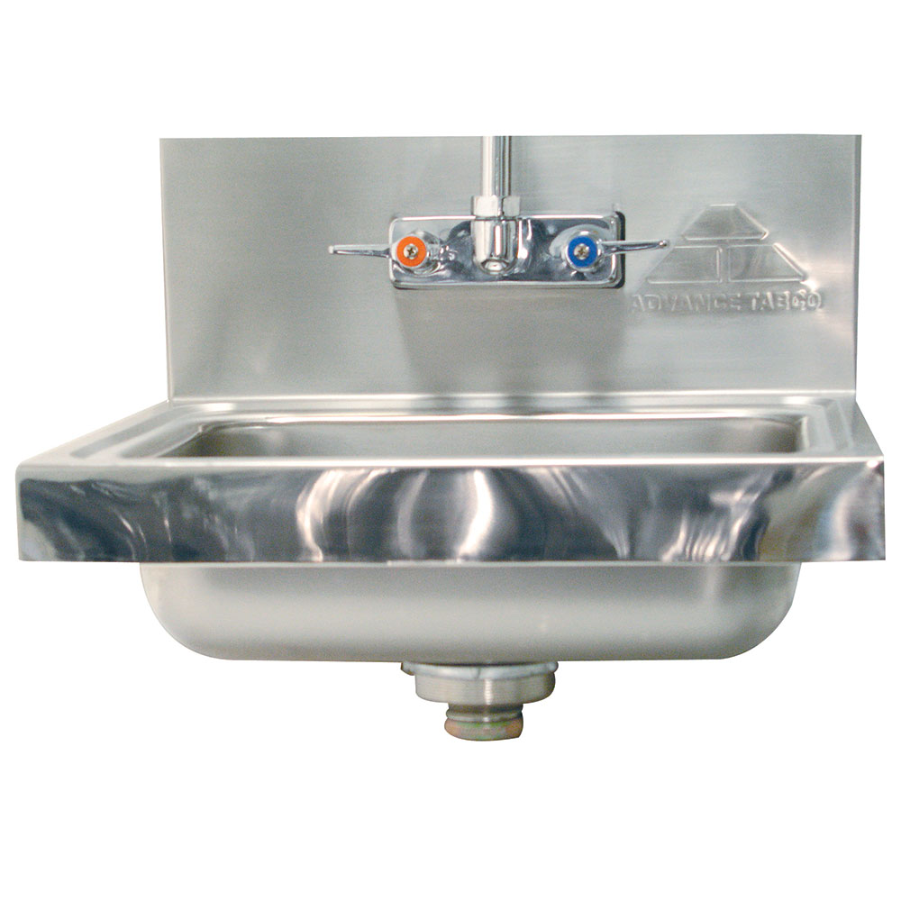 Advance Tabco 7-PS-106 Mirror Highlight Hand Sink Upgrade