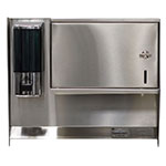 "Advance Tabco 7-PS-34 Soap, Towel Dispenser for 17"" Wide Hand Sinks"