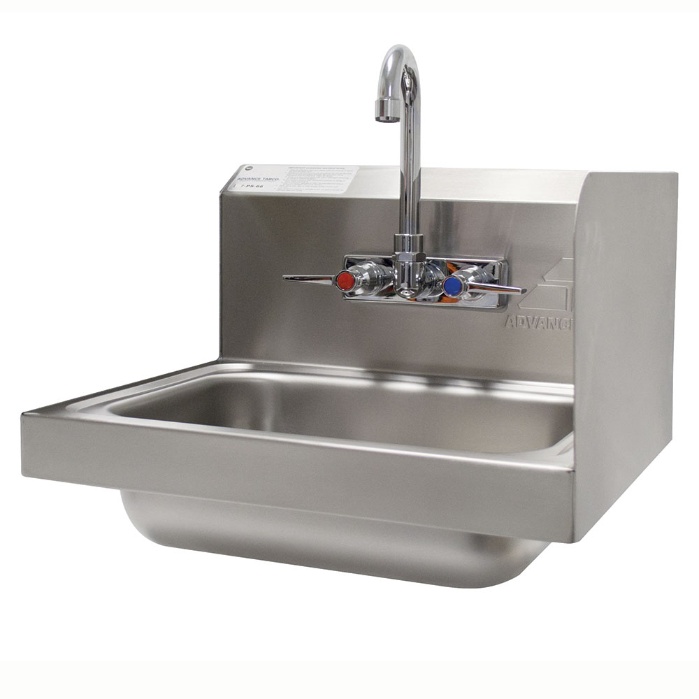 Advance Tabco 7 Ps 66r Wall Mount Commercial Hand Sink W