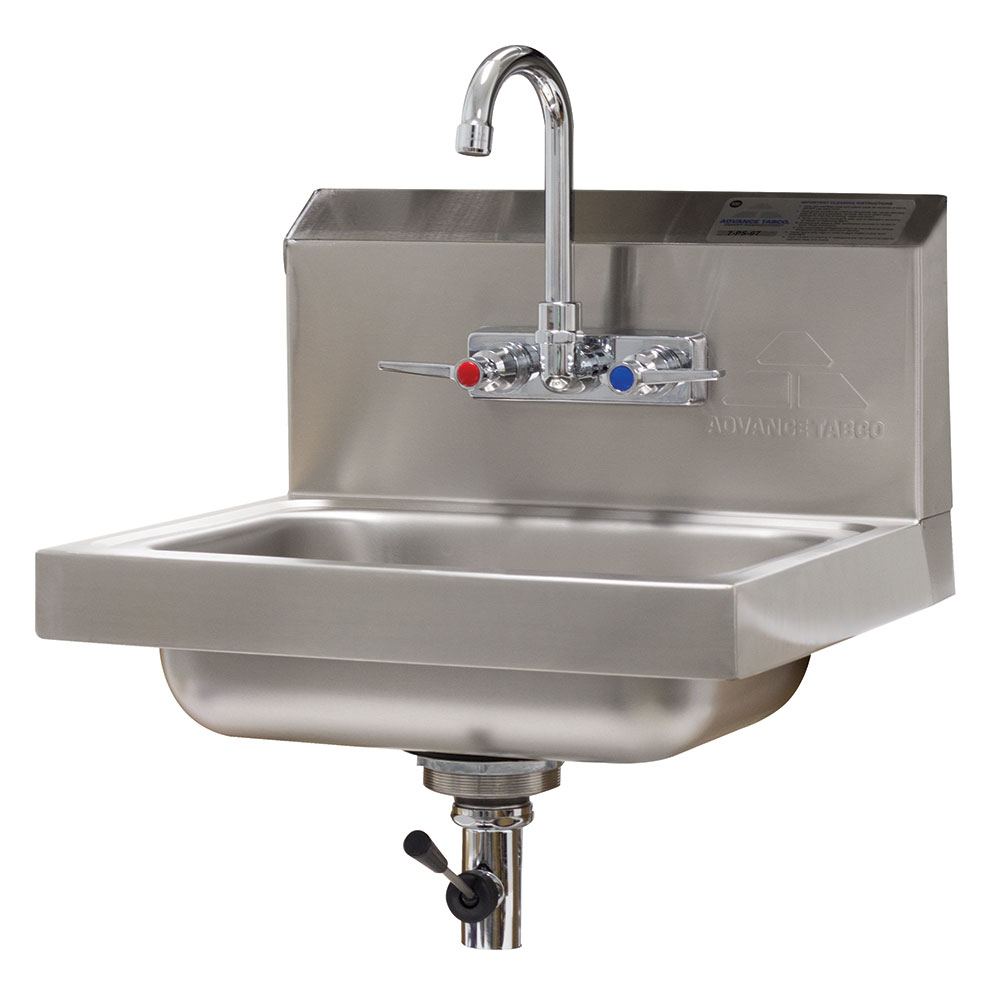 Advance Tabco 7 Ps 67 Wall Mount Commercial Hand Sink W