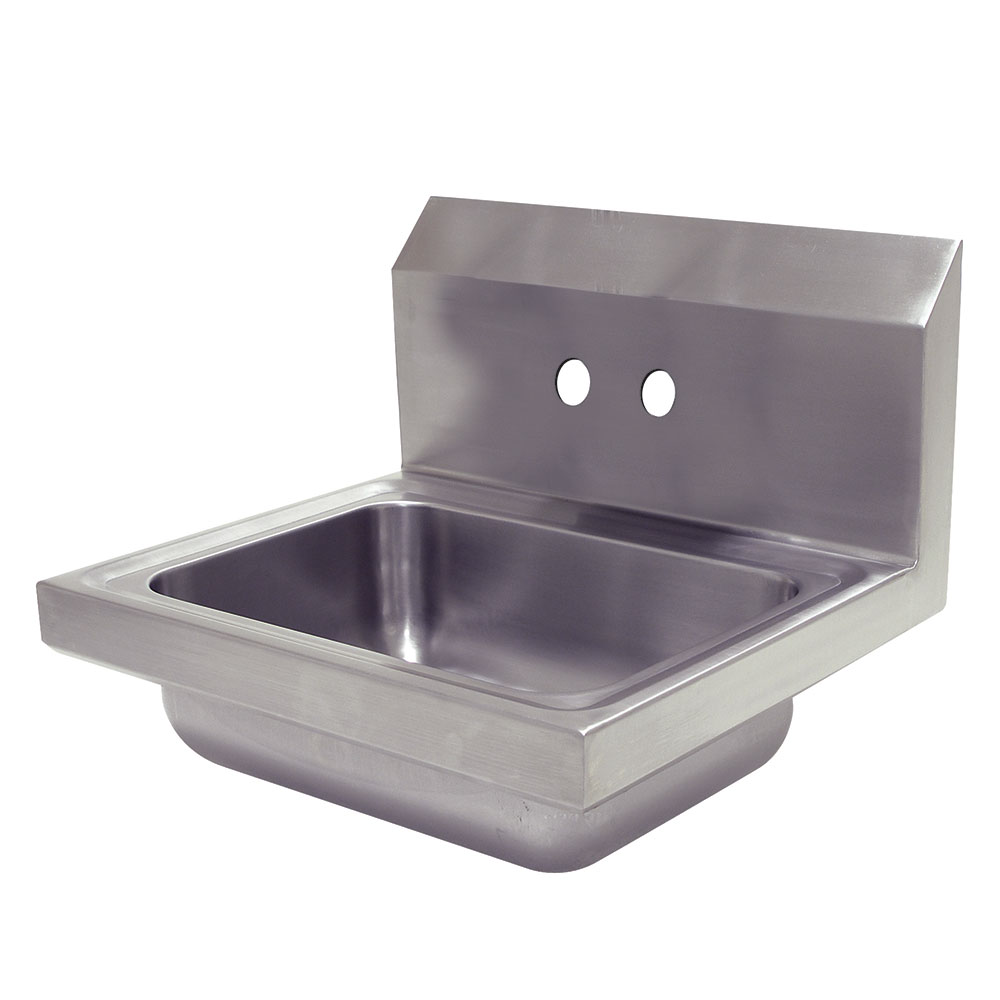 "Advance Tabco 7-PS-70-EC Wall Mount Commercial Hand Sink w/ 14""L x 10""W x 5""D Bowl, Basket Drain"