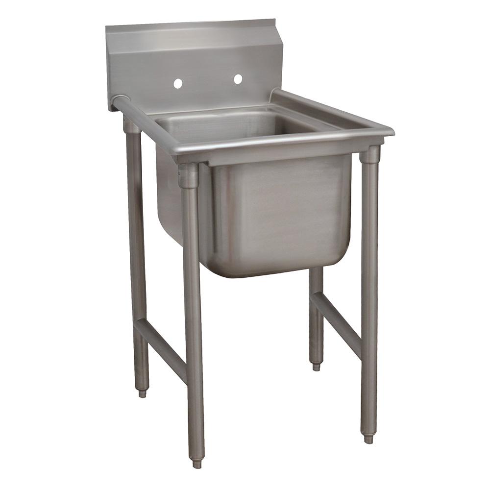"""Advance Tabco 93-1-24 25"""" 1-Compartment Sink w/ 16""""L x 20""""W Bowl, 12"""" Deep"""