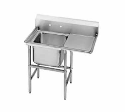 Advance Tabco 93-41-24-36R Sink (1) 36 x 36 x 12-in D 36-in Right Drainboard 16-Ga. Stainless Restaurant Supply