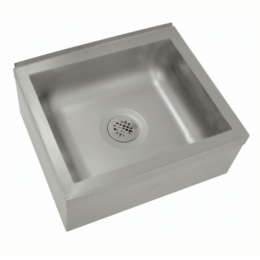 "Advance Tabco 9-OP-20 Floor Mount Mop Sink w/ 6""D Bowl, Tile Edge"
