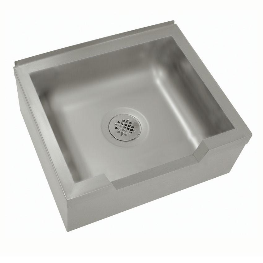 """Advance Tabco 9-OP-40DF Floor Mount Mop Sink w/ 12""""D Bowl, Drop Front"""