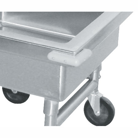 Advance Tabco 9-SS-2 4-Corner Bumpers For Mobile & Silver Soak Sinks