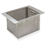 "Advance Tabco A-16 10"" Perforated Basket for All Bar Sinks"