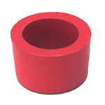 """Advance Tabco A-21 1"""" Old Style Rubber Grommets"""