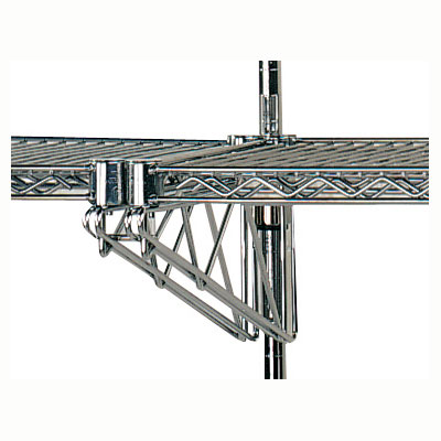 "Advance Tabco AABM-18 (2)18"" Double Adjustable Mid Brackets"