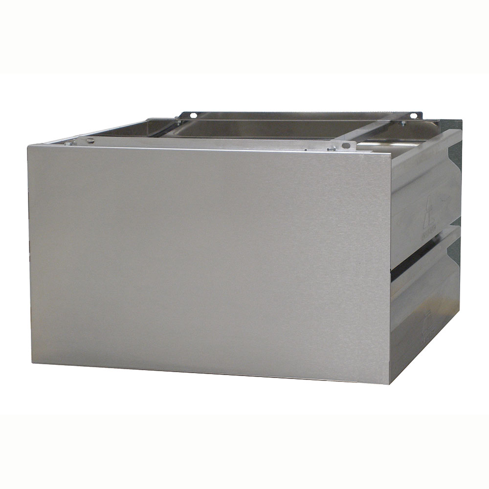 Advance Tabco ADT-2-2020 Drawer Assembly - Side Panels, 2-Tier, 20x20x5
