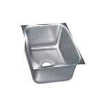 "Advance Tabco 1824A-14 Undermount Sink - 18x24x14"" Bowl, 18-ga 304-Stainless"