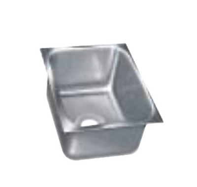 "Advance Tabco 1824A-12 Undermount Sink - 18x24x12"" Bowl, 18-ga 304-Stainless"