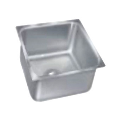 "Advance Tabco 2020A-14A Undermount Sink - 20x20x12"" Bowl, 14-ga 304-Stainless"