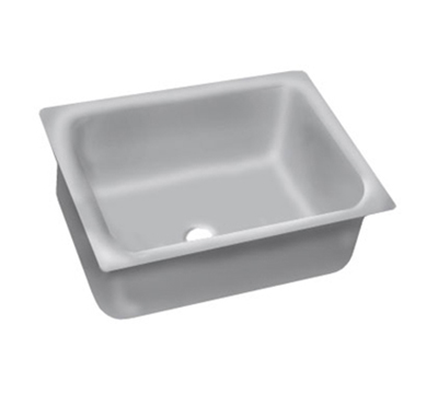 "Advance Tabco 2028A-12 Undermount Sink - 20x28x12"" Bowl, 16-ga 304-Stainless"