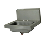 "Advance Tabco 7-PS-20-NF Wall Hand Sink - 4"" OC"" Deck, 14x10x5"" Bowl, 20-ga 304-Stainless"