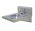 Advance Tabco 7-PS-26 Physically Challenged Hand Wall Sink - Soap Dispenser, 18-ga 304-Stainless