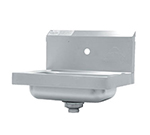 "Advance Tabco 7-PS-71 Wall Hand Sink - 14x10x5"" Bowl, 1-Splash Faucet Hole, Basket Drain"