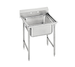 "Advance Tabco 9-21-20 Sink - 20x20x12"" Bowl, 8"" Splash, 18-ga 304-Stainless"