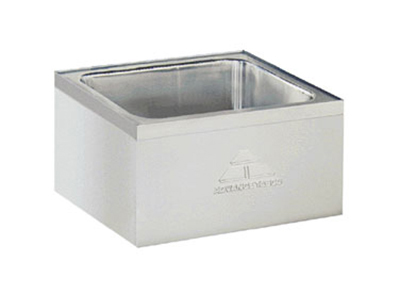 "Advance Tabco 9-OP-40 Floor Mount Mop Sink - 20x16x12"" Bowl, Free Flow Drain, Stainless"