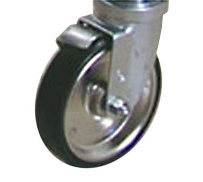 Advance Tabco BP255RE Heavy Duty Casters - 2-Brakes