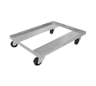 "Advance Tabco BPD-1 Single Stack Bun Pan Dolly - 400-lb Capacity, 26.75x18.38x5.25"", Aluminum"