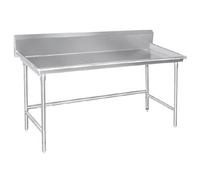 "Advance Tabco BSR-96 Sorting Table - 10.5"" Splash, 3"" Raised Edge, 30x96"", 16-ga 304-Stainless"