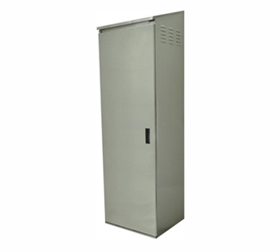 Advance Tabco CAB-1 Cabinet - Floor, Fixed Intermediate Shelf, Left Hinged Door, 18-ga 430-Stainless