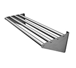 "Advance Tabco DT-6R-72 72"" Drainage Shelf - KD Tubular Design, 4-Rack Capacity"