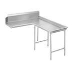 "Advance Tabco DTC-G30-108R 107"" Dishtable - Island Style, Stainless Legs, L-R, 14-ga 304-Stainless"