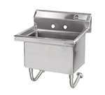 "Advance Tabco FS-WM-2721 Wall Mount Mop Sink w/ 12""D Bowl, Basket Drain"