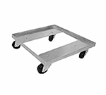 "Advance Tabco GRD-1 Single Stack Dolly Rack - 400-lb Capacity, 3"" Plate Caster, 20.5x20.5x5.25"