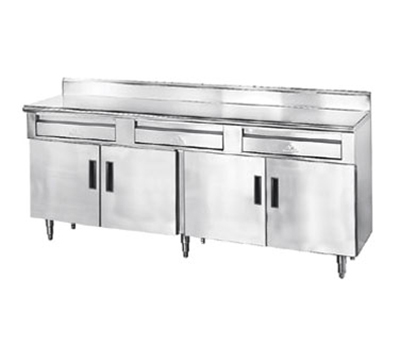 "Advance Tabco HDRC-306 72"" x 30"" Stationary Equipment Stand for General Use, Cabinet Base"