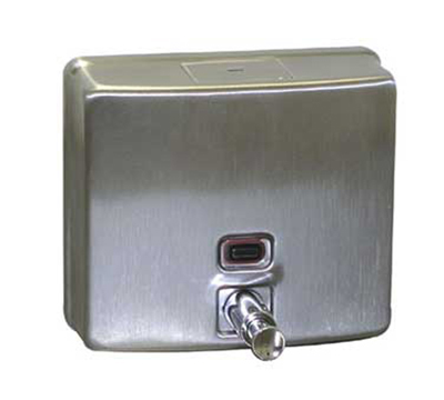 Advance Tabco K-13RE Wall Mount Stainless Steel Soap Dispenser, Residential Model